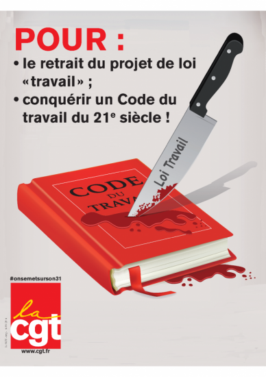 Affiche Code travail