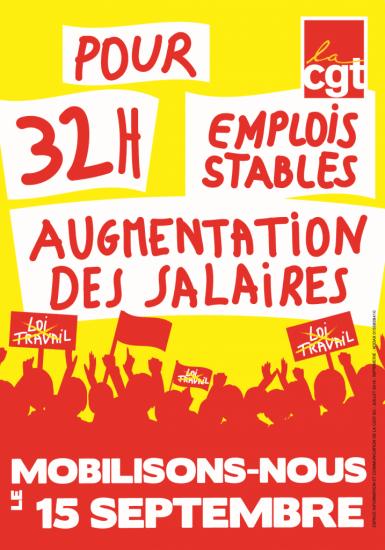 Affiche Mobilisation15 09 2016