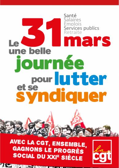 Manifestation 31 Mars 2016