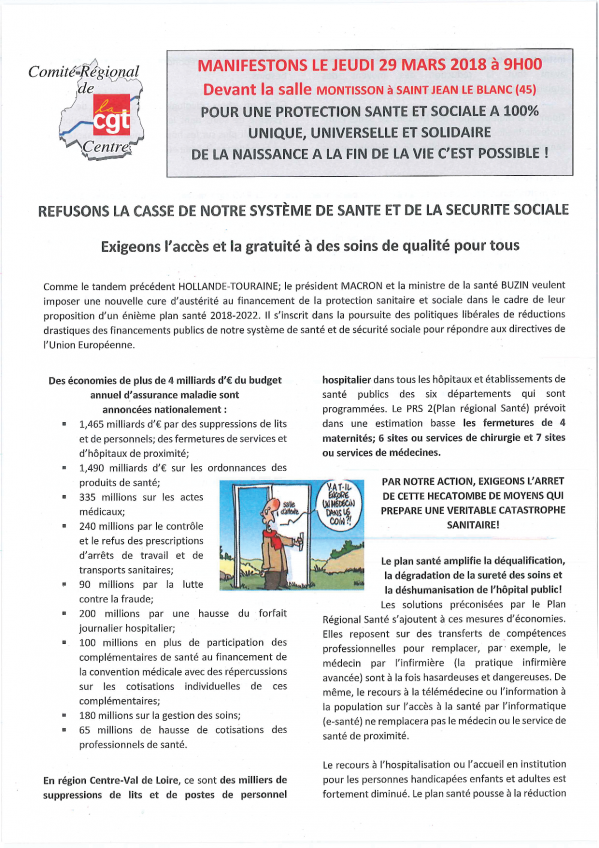 Tract cr pour le 29 mars 2018